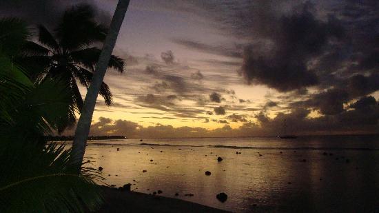 Paradise Inn: Another beautiful sunset