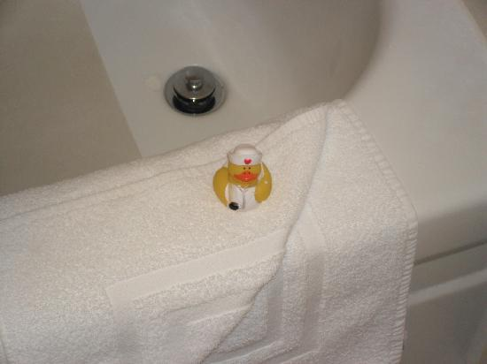La Cuesta Inn: Rubber duck in the Bathroom !