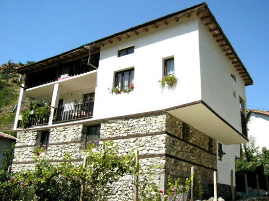 House Pri Stamena: front side of the house