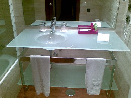 Hotel Zenit Barcelona: Lavabo