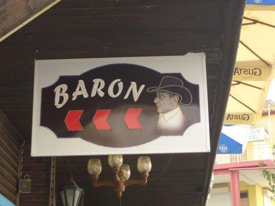 Cadde Baron Restaurant: Foto vom Restaurant