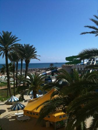 Le Marabout Hotel : view from balcony