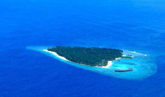 Filitheyo Island Resort - Vista dall'aereo taxi
