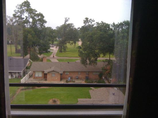 Holiday Inn Express Hotel & Suites Lake Charles: View from bedroom window