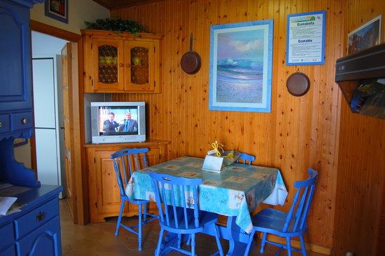 La Scogliera: Dining area