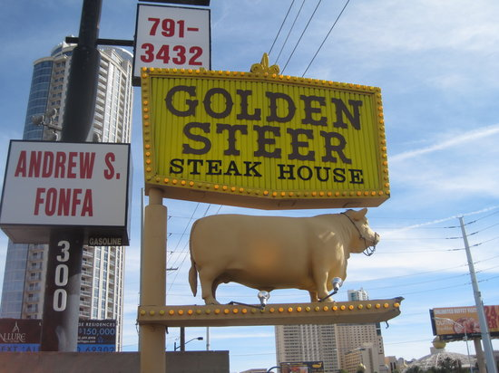 Golden Steer. Mmm mmm!! - Picture of Golden Steer Steak House, Las ...