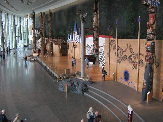Museo de la Civilización en Ottawa