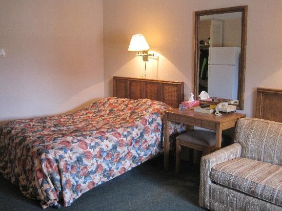 Carriage House Motor Lodge : Motel room