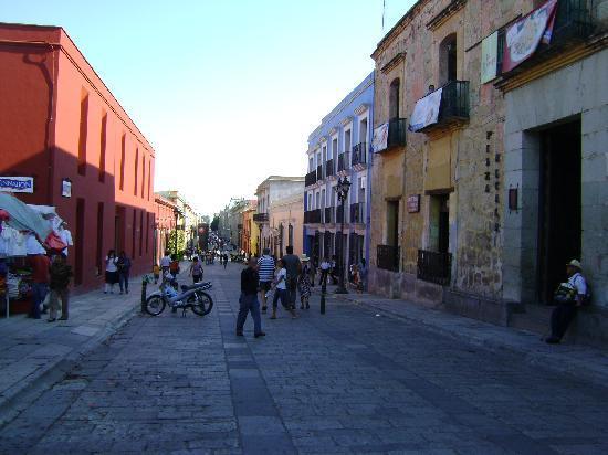 Una calle de Oaxaca, Patrimonio de la HUmanidad