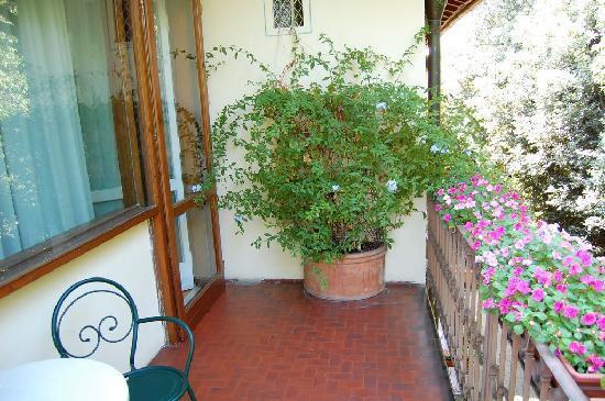 Hotel David: Balcony 1