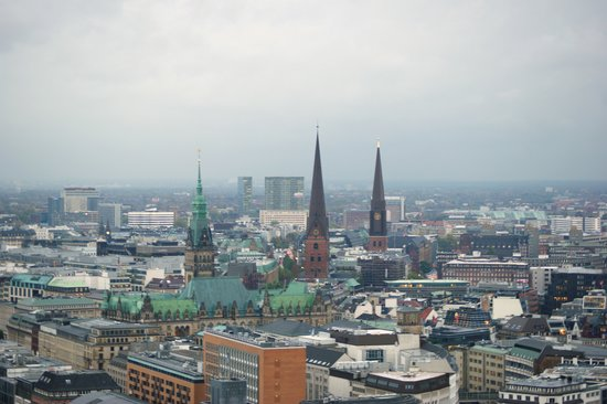 Hamburg, Germany: Blick vom Michel