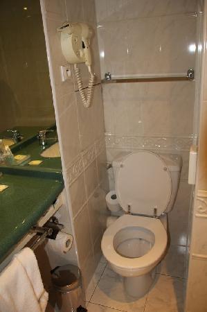 Hotel ibis Styles Paris Tolbiac Bibliotheque: WC près du lavabo