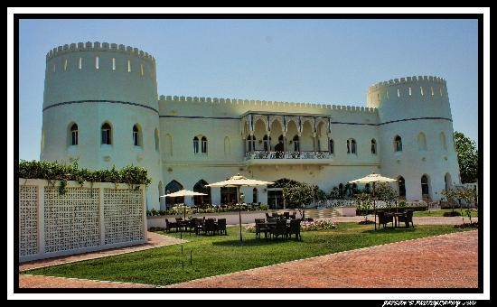 Sohar Beach Hotel: Sohar hotel, inside as fort