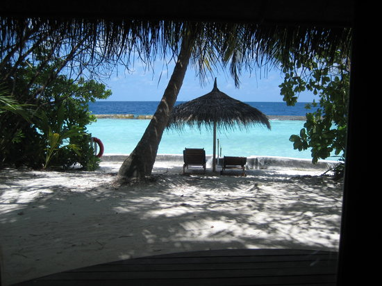Ellaidhoo Maldives by Cinnamon: The view from our bungalow