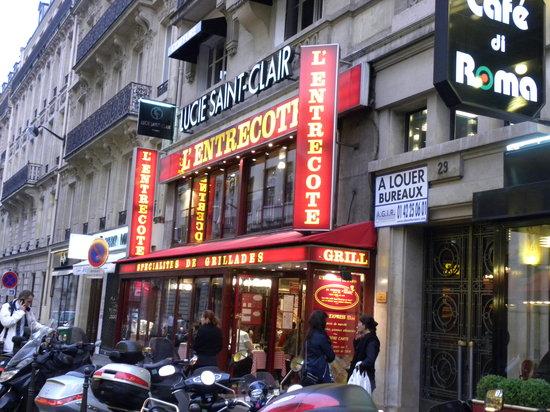 L Entrecote De Paris Champs Elysees Restaurant Reviews