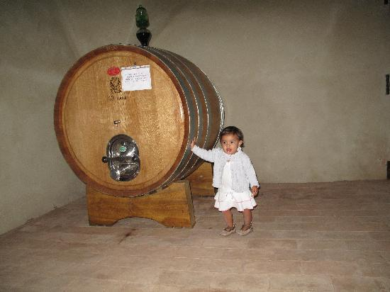 Castello di Montegiove: Daughter Scarlet within the Castle