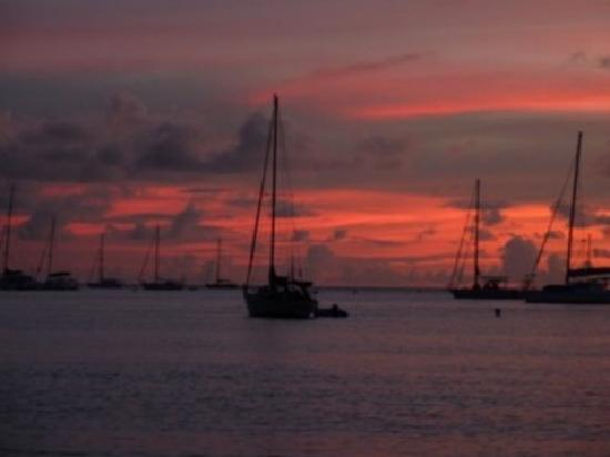 Lance aux Epines, Grenada: one of the glorious sunsets