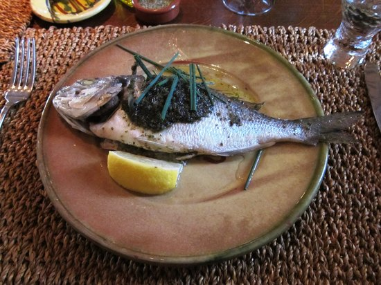 Le Clos de Gustave: Sea Bass at Clos de Gustave