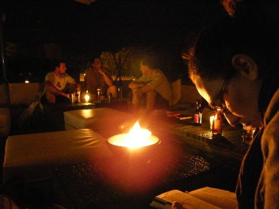 Mezzanine Fes: Terraza chill out