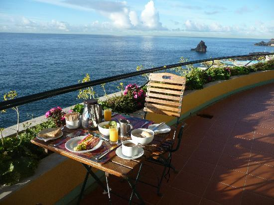 Pestana Palms: Frühstücksterrasse