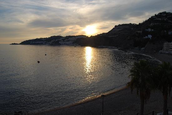 Hotel Playa Cotobro: atardecer desde el hotel