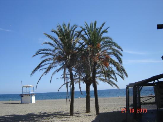 Diana Park: The quietness of the beach at Estepona