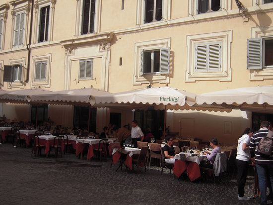 Photo of Italian Restaurant Pierluigi at P.zza De Ricci, 144, Rome, Italy