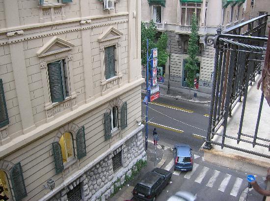 B&B Castiglia: Vista desde nuestra ventana