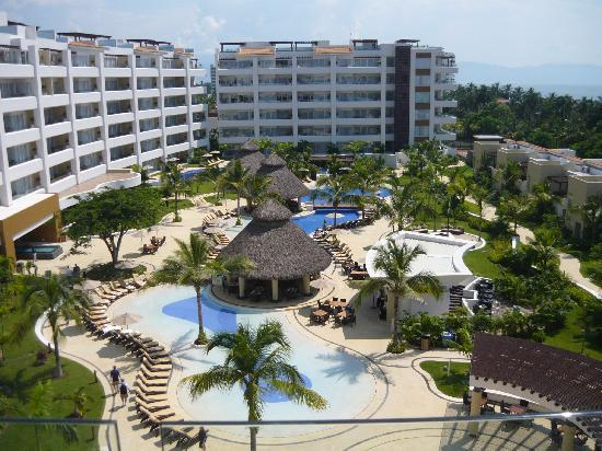 Marival Residences Luxury Resort: The view from our room