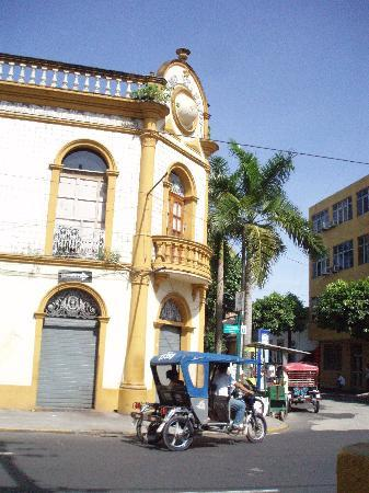 La Casa Fitzcarraldo: the historic district in Iquitos
