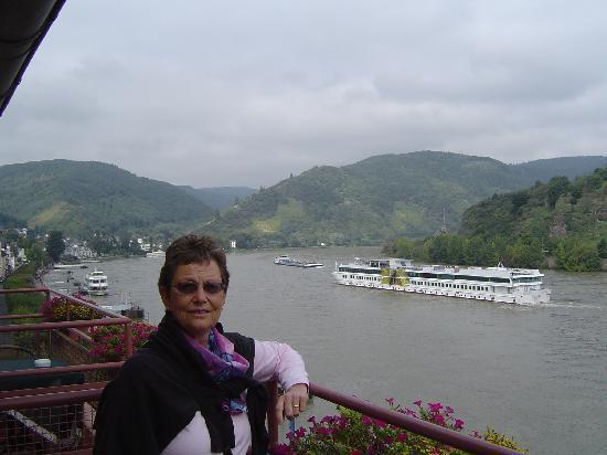 Rheinhotel Lilie: view from balcony