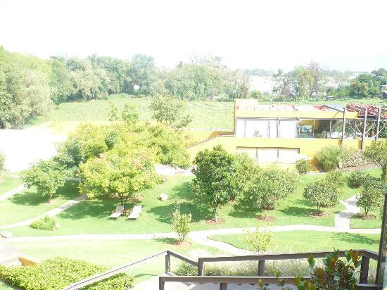 Hotel Spa Casa en el Campo: Vista de los jardines del hotel spa