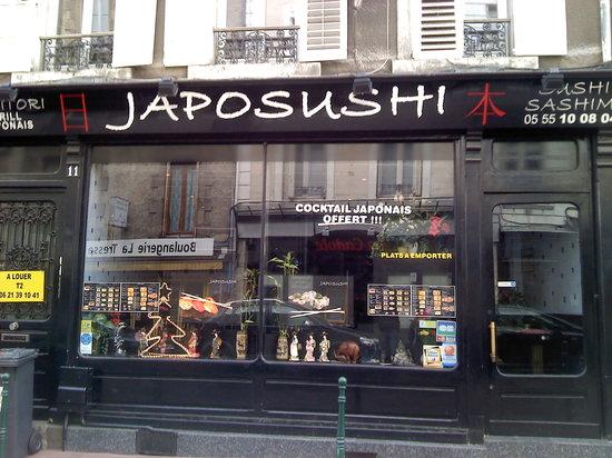 Japosushi: l'extérieure