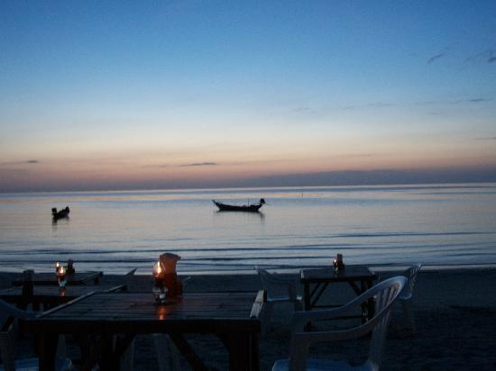 Niramon Sunview Resort: tramonto a koh phangan