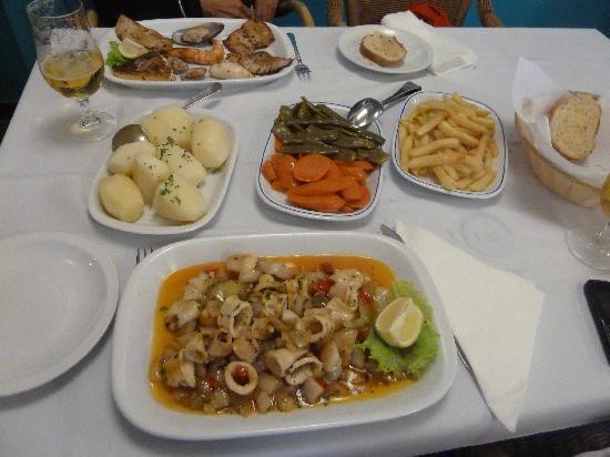 Marisqueira O Pescador : Mahlzeit !