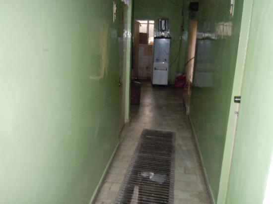 Hotel Namaskar: The hallway