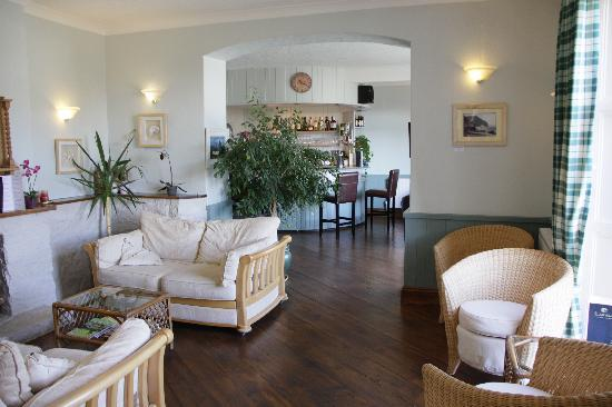 Fernhill Hotel: The bar/reception room