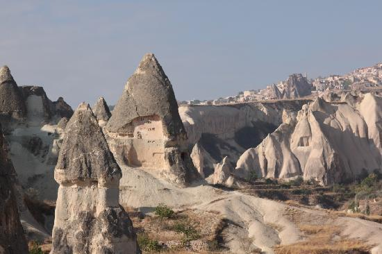 Koza Cave Hotel: view from tarrace