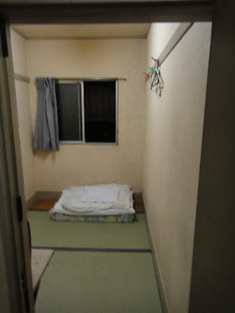 Backpacker's Hotel New Koyo: Photo de la chambre (simple, mais pas la moins chère)