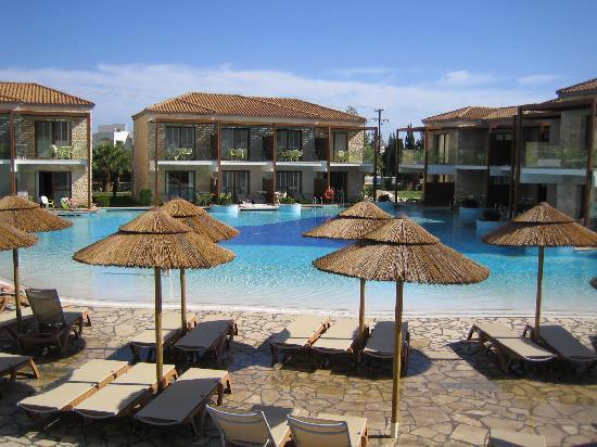 Holiday Village Rhodes: Deluxe Pool From the Club Bar