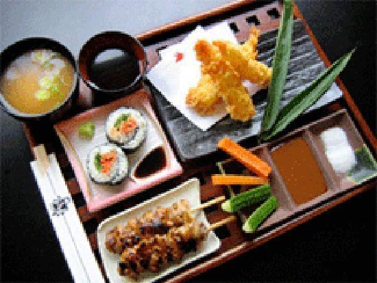 Kushi-Tei Of Tokyo: Served meal in kushi-tei