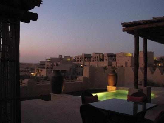 Qasr Al Sarab Desert Resort by Anantara: outdoor view from 1 bedroom pool villa #12