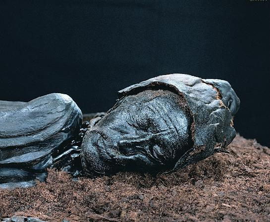 Silkeborg, Dinamarca: The Tollund Man