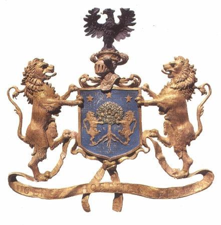 Casa Rocca Piccola: Coat of Arms of The de Piro Family