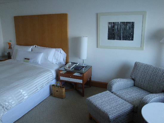 The Westin Chosun Busan: 宿泊した部屋です。