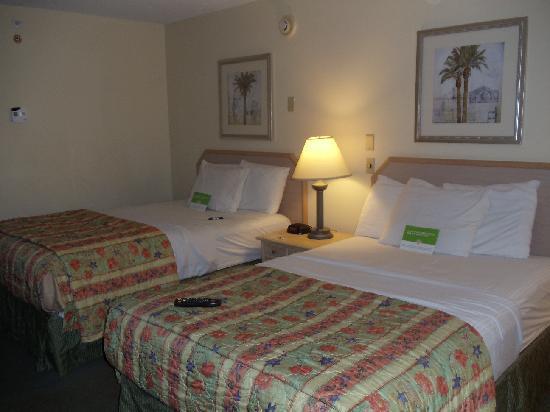 La Quinta Inn Tampa Near Busch Gardens: beds