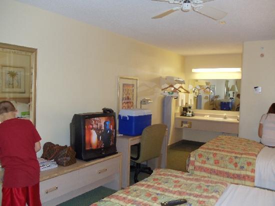 La Quinta Inn Tampa Near Busch Gardens: room