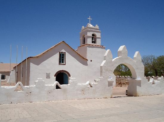 San Pedro de Atacama, Chile: church