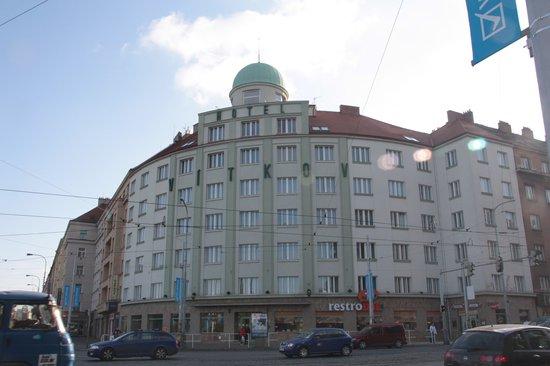 Novum Hotel Vitkov Prag: Hotel Vitkov