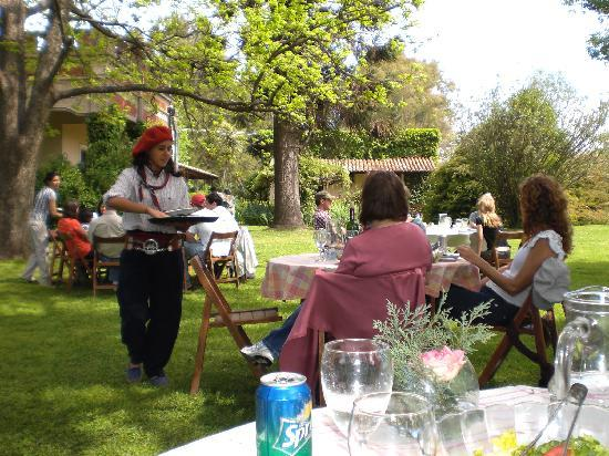 Estancia El Ombu de Areco: The meal